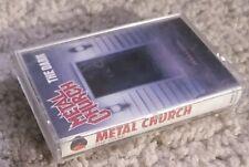 Metal Church The Dark Cassette Tape 1986  Elektra – 9 60493-4