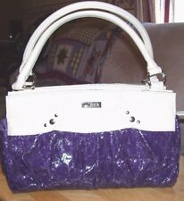 MICHE= CLASSIC BEIGE BASE W/ VIOLET SHELL  ( BOTH NEW )