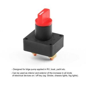 100A Battery Master Kill Switch Isolator Disconnect Rotary Cut Off Car Auto Boat