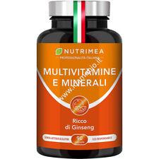 Multivitamine e Minerali Nutrimea ricco di Ginseng