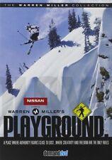 Warren Miller's Playground (DVD, 2008) Extreme Sport Skiing