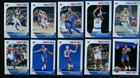 2019-20 Panini NBA Hoops New York Knicks Base Team Set of 10 Basketball Cards