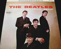"Beatles LP ""INTRODUCING THE BEATLES"" Stereo Ad Back - NM (See $450 DISCOUNT)"