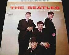 """Beatles LP """"INTRODUCING THE BEATLES"""" Stereo Ad Back - NM (See $450 DISCOUNT)"""