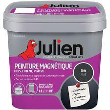 PEINTURE MAGNETIQUE GRIS POUR TRANSFORMER MUR EN PANNEAU AFFICHAGE AIMANTE 0.5L