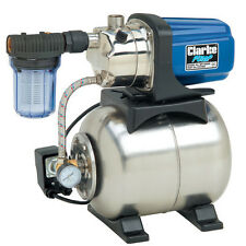 "Clarke Electric Booster Pump Self Priming Water Pumps,Valve, 1"" Clarke BPT1200SS"