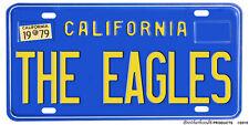 California The Eagles Flat Printed Aluminum License Plate