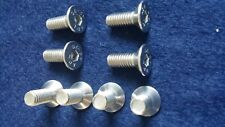 VW GOLF MK5 (2004 > 2009) FRONT DISC BRAKE STAINLESS STEEL SCREWS X 8