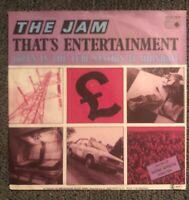 "The Jam That's Entertainment Germany 7"" PS Mod Punk TwoTone Ska Paul Weller"