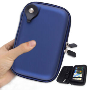 5.2 inch Car GPS Carrying Case Hard Shell Protective Pouch Storage Skins Bag