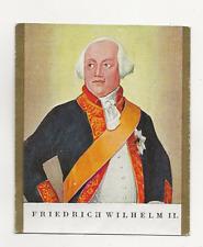 62/498 SAMMELBILD FRIEDRICH WILHEHLM 2 von PREUSSEN