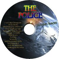 THE POLICE GUITAR BACKING TRACKS CD BEST GREATEST HITS MUSIC PLAY ALONG ROCK MP3