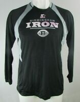 Alliance of American Football Birmingham Iron Men's Large Logo Tee By Starter