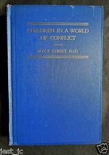 Roy Frink Street, Children in a world of conflict 1941 signed inscribed. QQ