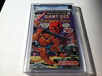 GIANT SIZE FANTASTIC FOUR 2 CGC 9.0 THE WATCHER COVER AND APP A MARVEL COMICS