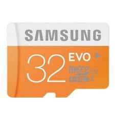 SAMSUNG EVO MICROSDHC 32GB 32G Micro SDHC SD 48MB/CLASSE S 10 BLOCCO