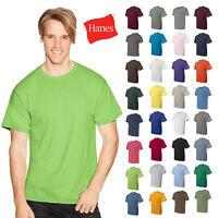 Hanes ComfortBlend 50/50 Plain Tee Blank Solid Short Sleeve Mens T-Shirt - 5170