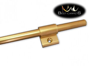 Aluminum durable STAIR RODS with bracket gold lenght 80-135 cm best quality