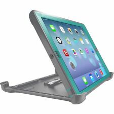 Otter New Box Defender Case w/Stand For iPad 4 iPad 2 & 3 Gray/Green Teal HARBOR