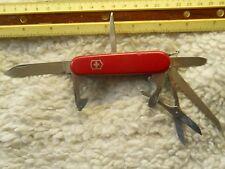 Victorinox Huntsman Swiss Army knife in red - no hook, older model