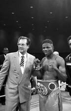 Large Old Boxing Photo Charles Murray Winning The Fight Against Juan Laporte
