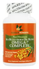 Seabuck Wonders Sea Buckthorn Oil Blend Omega-7 Complete 500 mg 60 Softgels