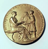 Dépt 88 - Belle Médaille par Oscar Roty de 50,5 mm - Education Nationale 1893/94