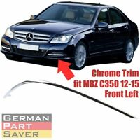 Front Bumper Trim Molding Left Driver Side for Mercedes C350 2012-15 2048853721