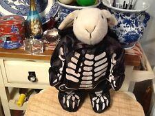 "Sugar Loaf Bunny Rabbit Beige Skeleton suit /hat 20"" Plush Stuffed Animal Toy"