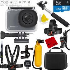 Akaso V50 Pro Native 4K 20MP Waterproof Action Camera 32GB Outdoor Mount Kit