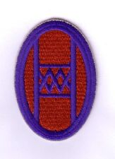 """WWII - 30th INF. DIVISION """"Double Blue Border"""" (Reproduction)"""