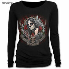 Spiral Crew Neck Long Sleeve Tops & Shirts for Women