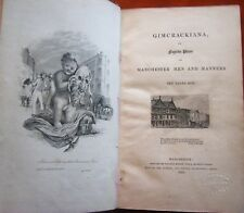 ~Very Rare 1833 Gimcrackiana Book Early Golf & Sports mentioned Fugitive Pieces