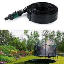 39.4FT Trampoline Waterpark Sprinkler Outdoor Child Water Sprinkler Toy U8