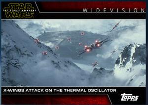 Topps Star War Card Trader Widevision X-Wings The Force Awakens Digital Card