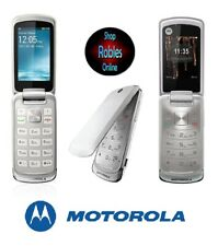 Motorola Gleam White (Ohne Simlock) Radio FM Bluetooth 2,0MP MP3 Rarität TOP