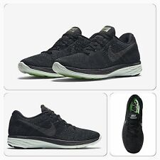 BNIB Womens UK 5 Nike Flyknit Lunar 3 LB Trainers Blackout Free Run | 826838-003