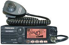 President McKinley Multimode CB Radio  AM FM USB LSB SSB Sideband  DIN Fitting