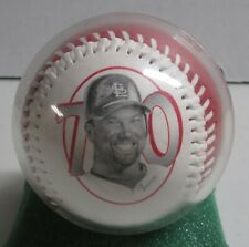 Mark McGwire fotoball from 1998, commemorating his 70th home run. St.Louis