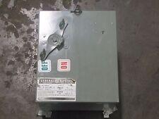 GE FLEX-A-PLUG DH421R STYLE 2 240V 30A 30 A AMP FUSIBLE BUSWAY PLUG SWITCH