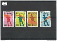112014/1286 - ZIMBABWE 1981 - YT N° 25/28 ** (MNH) LUXE