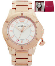 **REDUCED*** Juicy Couture 1901201 Ladies' Rich Girl Rose Charm Bracelet Watch