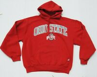 Vintage 90s Russell Athletic Mens Ohio State Buckeyes Pullover Hoodie Sweater