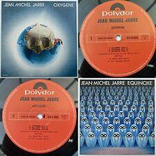 JEAN MICHEL JARRE Oxygene / Equinoxe Double Pack Gatefold LP Polydor EX/EX