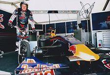 Dougie LAMPKIN Red Bull Signed 12x8 Photo World Champion AFTAL COA Autograph