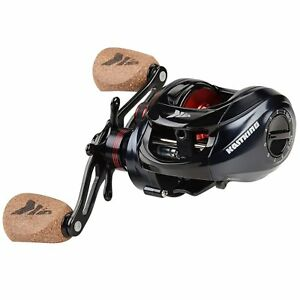 KastKing Spartacus Plus 6.3:1 Gear Ratio Smooth Baitcaster Fishing Reel - Right