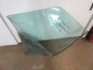 1970 Pontiac Catalina convertible rear quarter window tinted glass PASSENGER