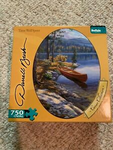"""Buffalo Games """"Time Well Spent """" """"NEW"""" 750 Oval Piece Puzzle"""