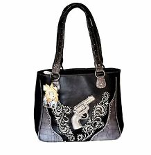Montana West Dual Sided Concealed Carry Handbag Western Cowgirl Designer Purse