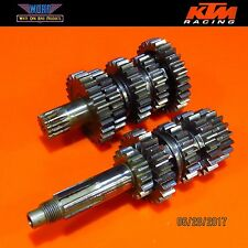 1999 KTM 380 300 250 MXC Transmission Gear Box Main Drive Shaft 54633003400